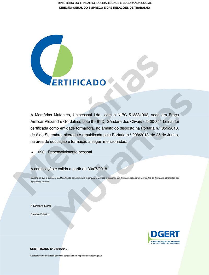 Certificado C3770
